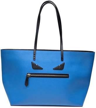 Fendi Roll Bag Blue Leather Handbags