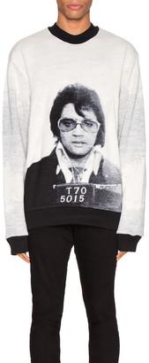 Alchemist Elvis Crewneck in Black & White | FWRD