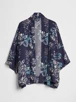 Gap Longline Floral Topper Jacket