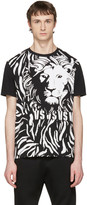 Versus Black Large Lion T-shirt