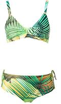 Lygia & Nanny - printed triangle bikini set - women - Polyamide/Spandex/Elastane - 40