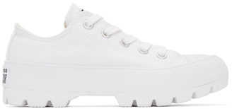 Converse White Lugged Chuck Taylor All Star Low Sneakers