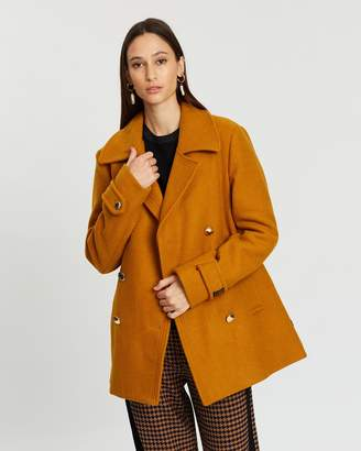 Scotch & Soda Double-Breasted Peacoat