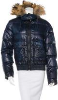 Dolce & Gabbana Fur-Trimmed Puffer Jacket