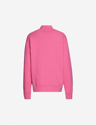 Acne Studios Ferd logo-patch cotton-jersey sweatshirt