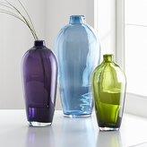 Crate & Barrel Ashby Glass Vases