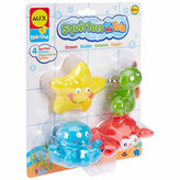 Alex Rub A Dub Bath Squirters Ocean 4-pc. Toy Playset