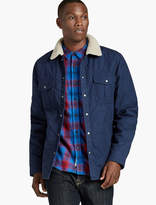Lucky Brand Sherpa Collar Overshirt