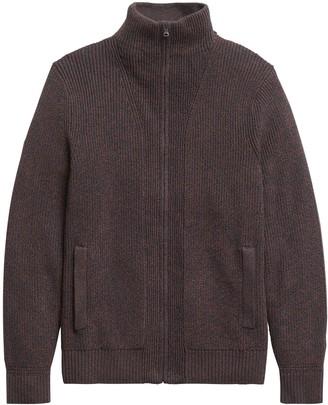 Banana Republic Heritage Ribbed Sweater Jacket