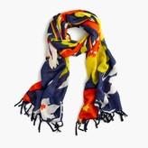 J.Crew Vintage floral scarf
