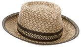 Eric Javits Metallic Fedora Hat