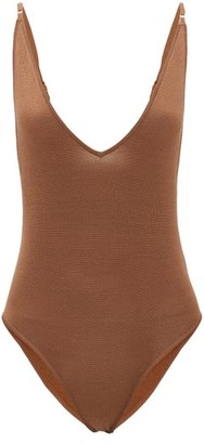 Dodo Bar Or Liam Rib-knitted Bodysuit - Light Brown