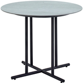 Houseology Gloster Whirl Round Dining Table 90 cm - Ceramic - Black