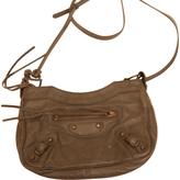Balenciaga Anthracite Leather Handbag