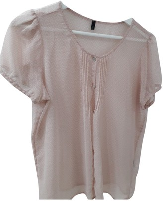 Benetton Pink Synthetic Tops