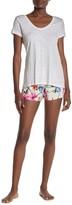 PJ Salvage Floral Chain Print Shorts
