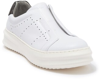 Karl Lagerfeld Paris Laceless Side Perforated Sneaker