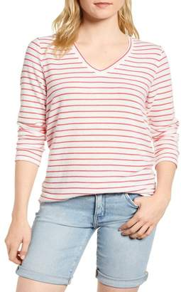 Gibson x Living in Yellow Steph Cozy Stripe Top (Regular & Petite Size)