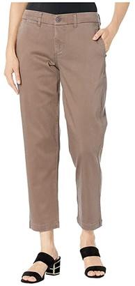 Liverpool Bobbie Trousers w/ Slash Pockets (Chocolate Chip) Women's Casual Pants