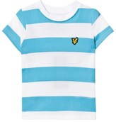 Lyle & Scott Norse Blue and White Striped Tee