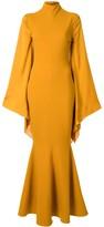 SOLACE London long sleeved maxi dress