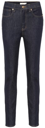 Tory Burch Mid-rise straight jeans