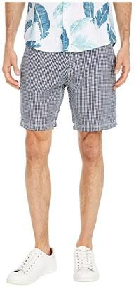 Onia Austin Linen Shorts (Deep Navy) Men's Shorts