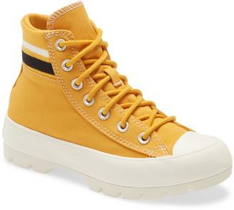 Converse All Star(R) Varsity Lugged Platform High Top Sneaker