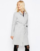 Noisy May Victory Belted Trench Coat