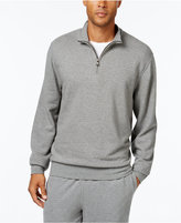 Cutter & Buck Men's Big & Tall Gleann Half-Zip Terry Sweatshirt