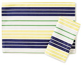 Kate Spade Crown Street Striped Table Linens