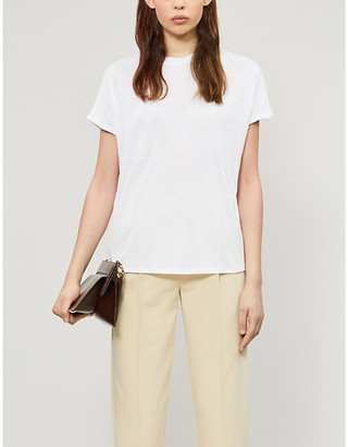 Ted Baker Tonal branded stretch-jersey T-shirt