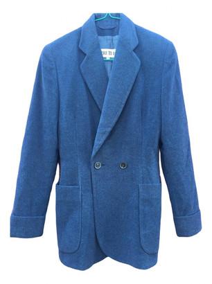Cerruti Blue Wool Jacket for Women Vintage