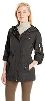 Jones New York Women's Hooded Anorak Jacket