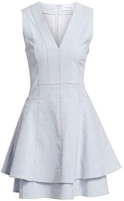 Derek Lam 10 Crosby Denim Fit-&-Flare Dress