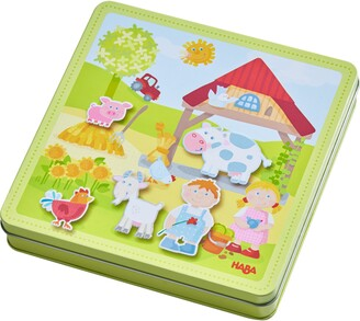 Haba Peter & Pauline's Farm Magnetic Activity Game