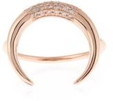 Jacquie Aiche Diamond & rose-gold ring