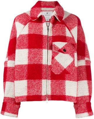 Woolrich Virgin Wool Check Jacket