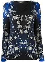 Roberto Cavalli stars print blouse - women - Viscose - 42