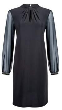 Dorothy Perkins Womens **Billie & Blossom Black Twist Shift Dress, Black