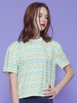 Rose Middle Neck Blouse