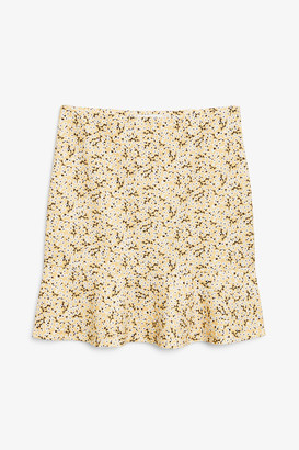 Monki High waist mini skirt