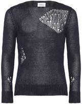 Hosio Distressed Sweater