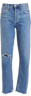 AGOLDE Jamie High-Rise Tapered Jeans