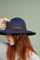 Anthropologie Feather-Trimmed Rancher