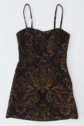 Urban Outfitters After All Corduroy Bustier Dress