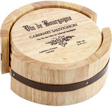 Thirstystone Coasters, Set of 4 Wine Cask Gift Set