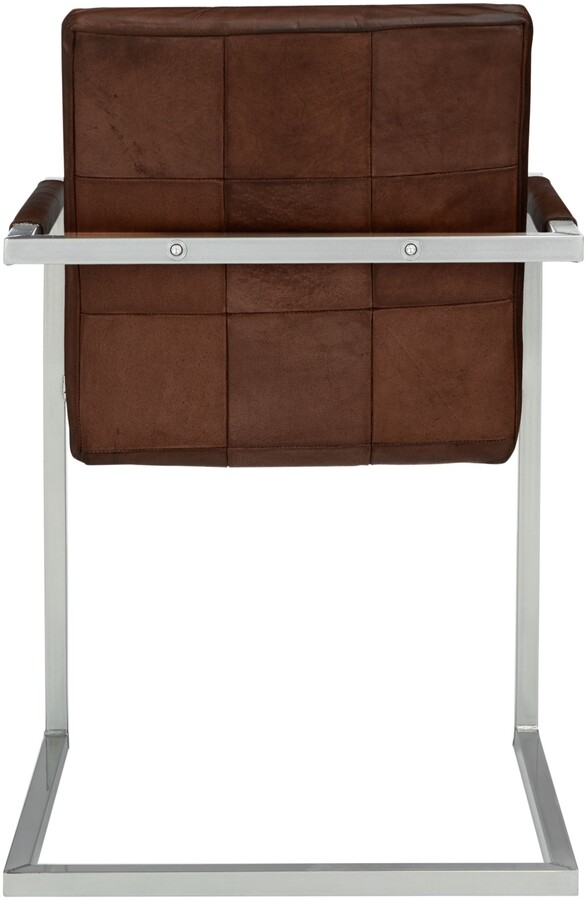 Thumbnail for your product : John Lewis & Partners Classico Leather Office/Dining Chair, Tan
