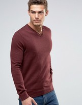 Esprit V-Neck Cashmere Mix Sweater