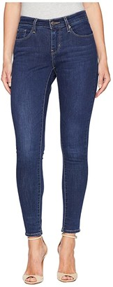 Levi's Womens Curvy Skinny (Deep Blue Cosmos) Women's Jeans